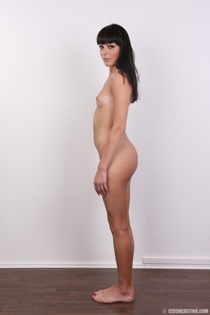 Wild and sexy black hair chick shows hot - XXX Dessert - Picture 10