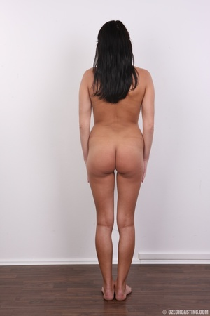 Wild and sexy black hair chick shows hot - XXX Dessert - Picture 11