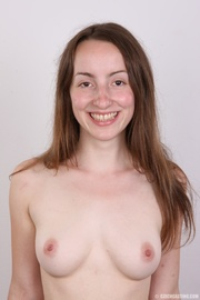 young smiling beauty with