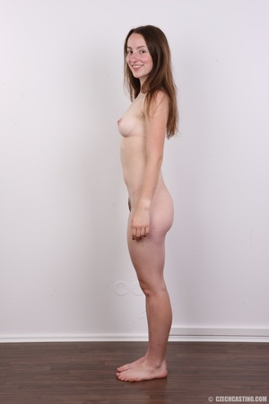 Young smiling beauty with cute eyes show - XXX Dessert - Picture 10
