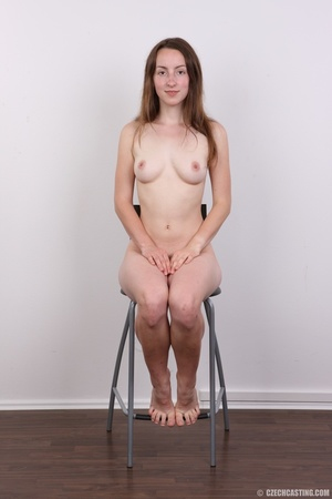 Young smiling beauty with cute eyes show - XXX Dessert - Picture 13