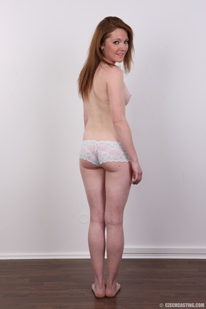 Young sexy soft skinned chick with red h - XXX Dessert - Picture 9