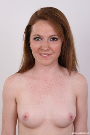 Young sexy soft skinned chick with red h - XXX Dessert - Picture 10