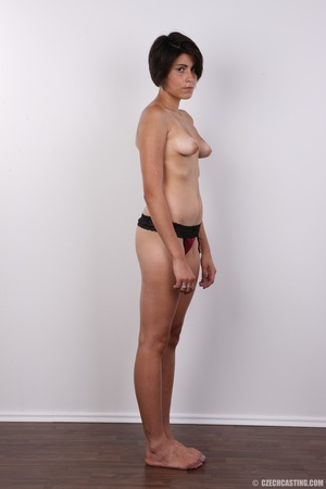 Sexy shaped chick with short black hair  - XXX Dessert - Picture 9