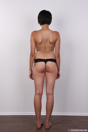 Sexy shaped chick with short black hair  - XXX Dessert - Picture 10