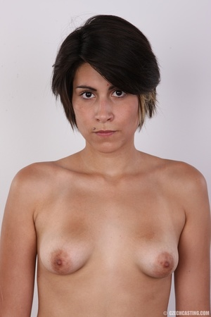Sexy shaped chick with short black hair  - XXX Dessert - Picture 12