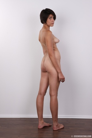Sexy shaped chick with short black hair  - XXX Dessert - Picture 18