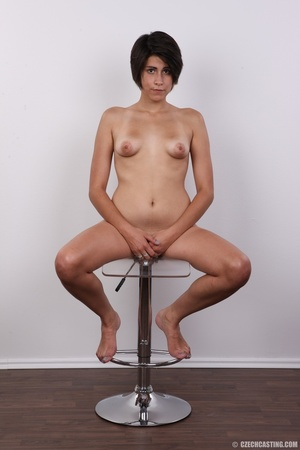Sexy shaped chick with short black hair  - XXX Dessert - Picture 20