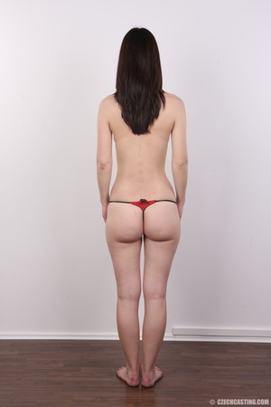 Shy looking cute good girl strips to sho - XXX Dessert - Picture 9