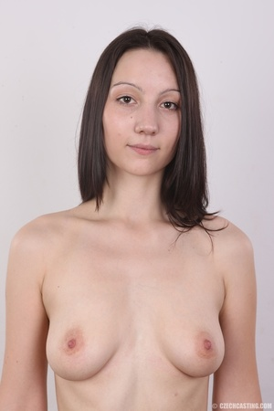 Shy looking cute good girl strips to sho - XXX Dessert - Picture 11