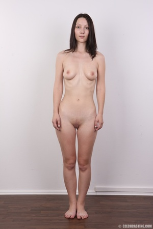 Shy looking cute good girl strips to sho - XXX Dessert - Picture 14