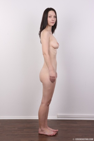 Shy looking cute good girl strips to sho - XXX Dessert - Picture 15