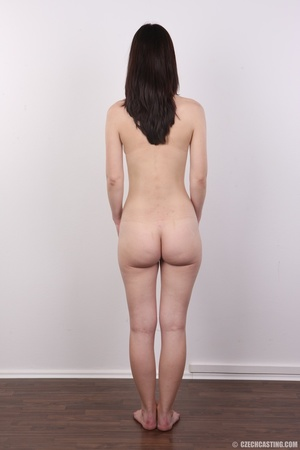 Shy looking cute good girl strips to sho - XXX Dessert - Picture 16