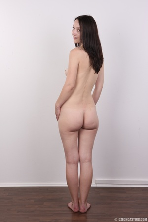 Shy looking cute good girl strips to sho - XXX Dessert - Picture 17