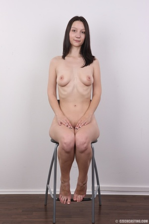 Shy looking cute good girl strips to sho - XXX Dessert - Picture 18