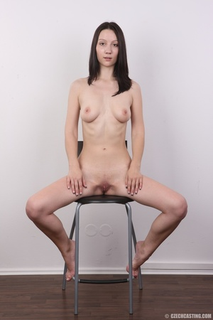 Shy looking cute good girl strips to sho - XXX Dessert - Picture 19
