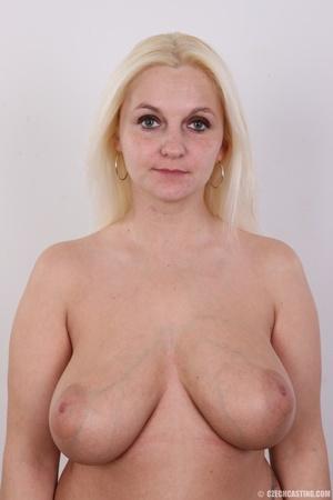 Chubby seductive blonde with hot big tit - XXX Dessert - Picture 7