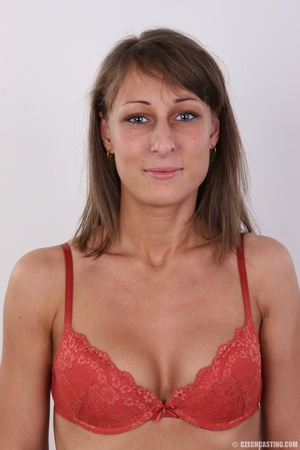 Beautiful brunette with sexy body shows  - XXX Dessert - Picture 4