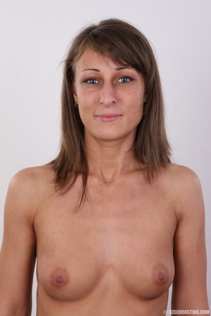Beautiful brunette with sexy body shows  - XXX Dessert - Picture 11