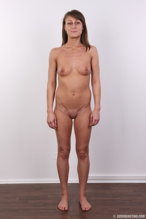 Beautiful brunette with sexy body shows  - XXX Dessert - Picture 14