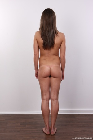 Beautiful brunette with sexy body shows  - XXX Dessert - Picture 15