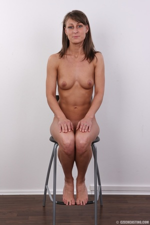 Beautiful brunette with sexy body shows  - XXX Dessert - Picture 17