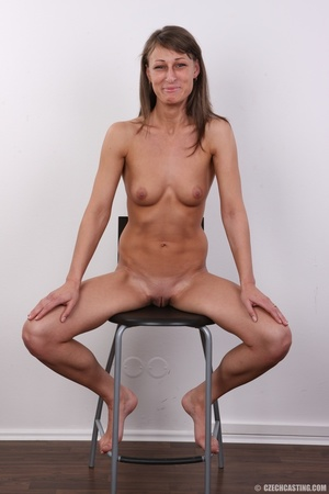 Beautiful brunette with sexy body shows  - XXX Dessert - Picture 18