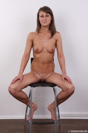 Beautiful brunette with sexy body shows  - XXX Dessert - Picture 19