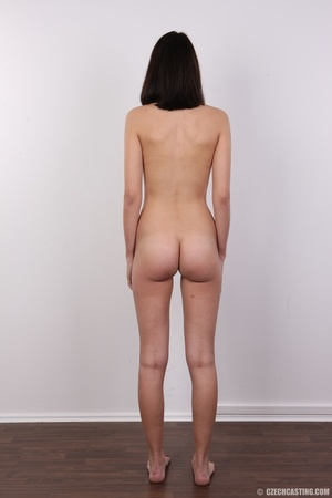 Innocent looking brunette with glass sho - XXX Dessert - Picture 17