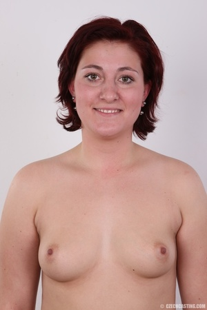 Plump lusty red hair lady shows sweet ti - XXX Dessert - Picture 7