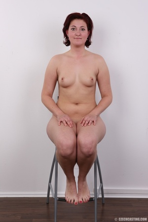 Plump lusty red hair lady shows sweet ti - XXX Dessert - Picture 13