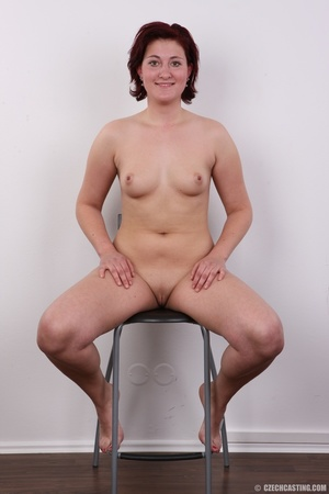 Plump lusty red hair lady shows sweet ti - XXX Dessert - Picture 14