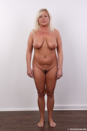 Big cute and matured blonde shows chubby - XXX Dessert - Picture 10