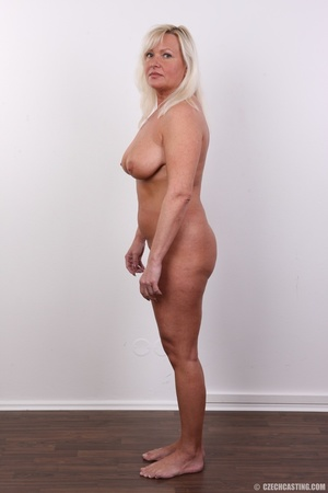 Big cute and matured blonde shows chubby - XXX Dessert - Picture 11