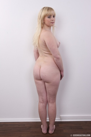 Pretty blonde with sexy chubby figure sh - XXX Dessert - Picture 17