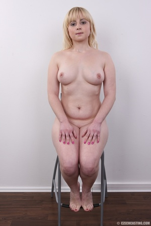 Pretty blonde with sexy chubby figure sh - XXX Dessert - Picture 18