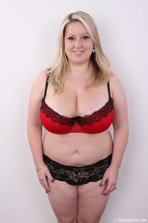 Cute face chubby blonde with real big ti - XXX Dessert - Picture 8