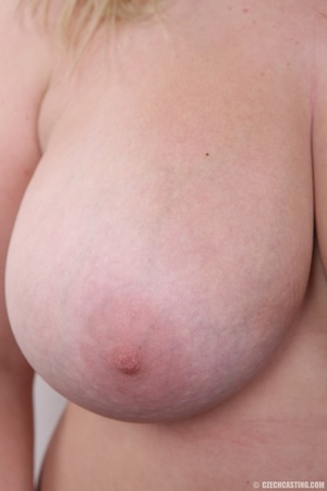 Cute face chubby blonde with real big ti - XXX Dessert - Picture 14