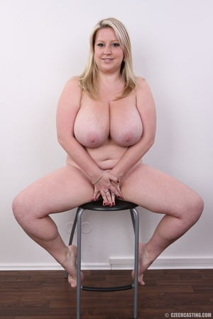 Cute face chubby blonde with real big ti - XXX Dessert - Picture 20