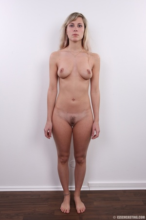 Sweet looking damsel shows sexy hairy pu - XXX Dessert - Picture 14