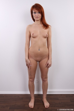 Fiery redhead with sexy body goes nude t - XXX Dessert - Picture 19