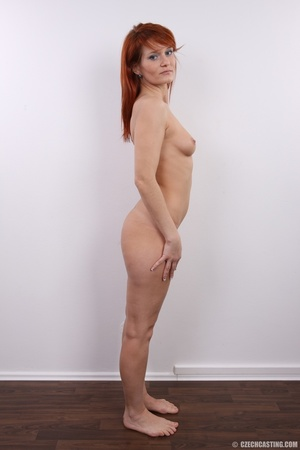 Fiery redhead with sexy body goes nude t - XXX Dessert - Picture 20
