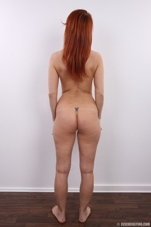 Fiery redhead with sexy body goes nude t - XXX Dessert - Picture 21