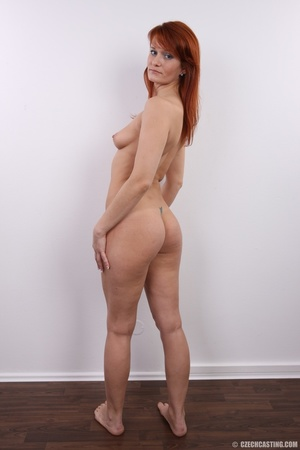 Fiery redhead with sexy body goes nude t - XXX Dessert - Picture 22