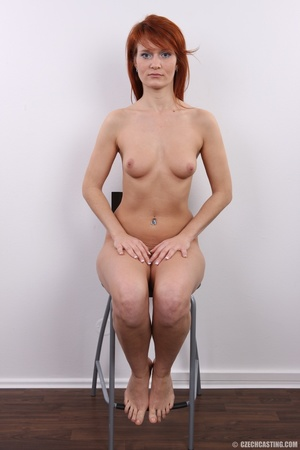 Fiery redhead with sexy body goes nude t - XXX Dessert - Picture 23