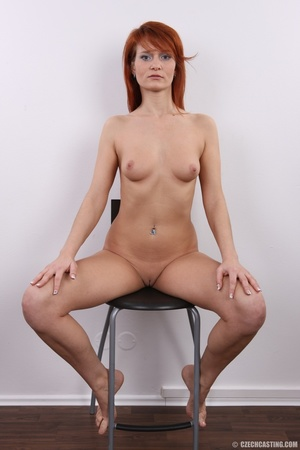 Fiery redhead with sexy body goes nude t - XXX Dessert - Picture 24