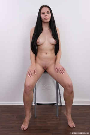 Horny chick with long hair strips to sho - XXX Dessert - Picture 14