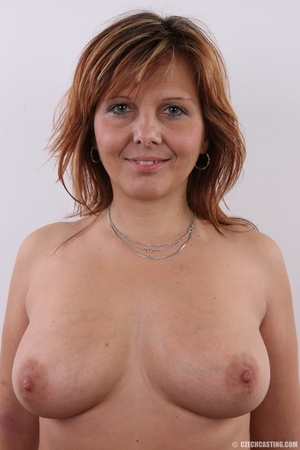 Matured chubby lady shows sweet big tits - XXX Dessert - Picture 7