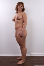 matured chubby lady shows