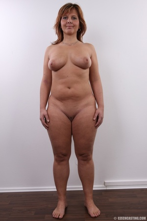 Matured chubby lady shows sweet big tits - XXX Dessert - Picture 12
